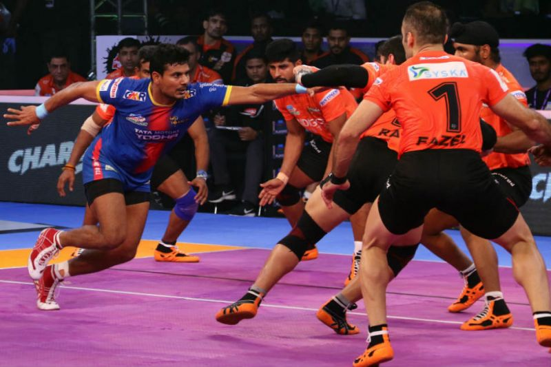 UP Yodha team defeated U Mumba