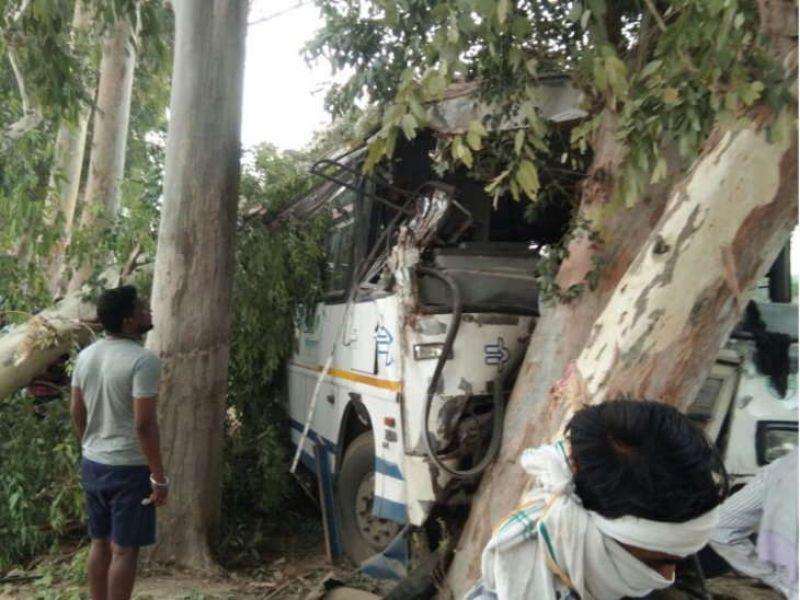 Bus Accident Sriganganagar