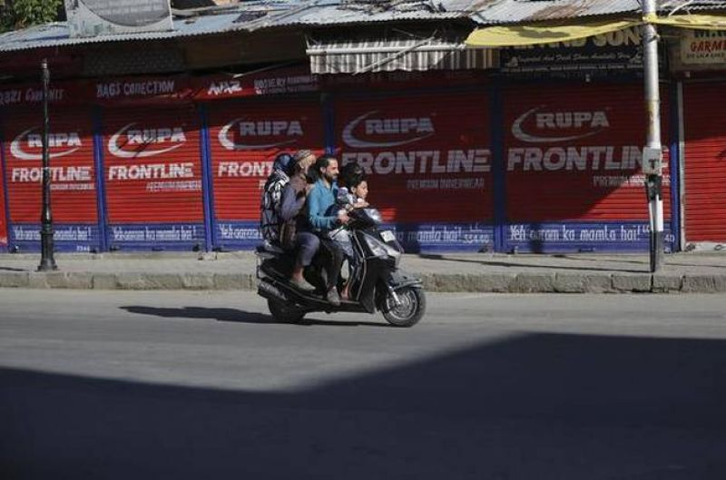 Restrictions eased in most areas of Kashmir