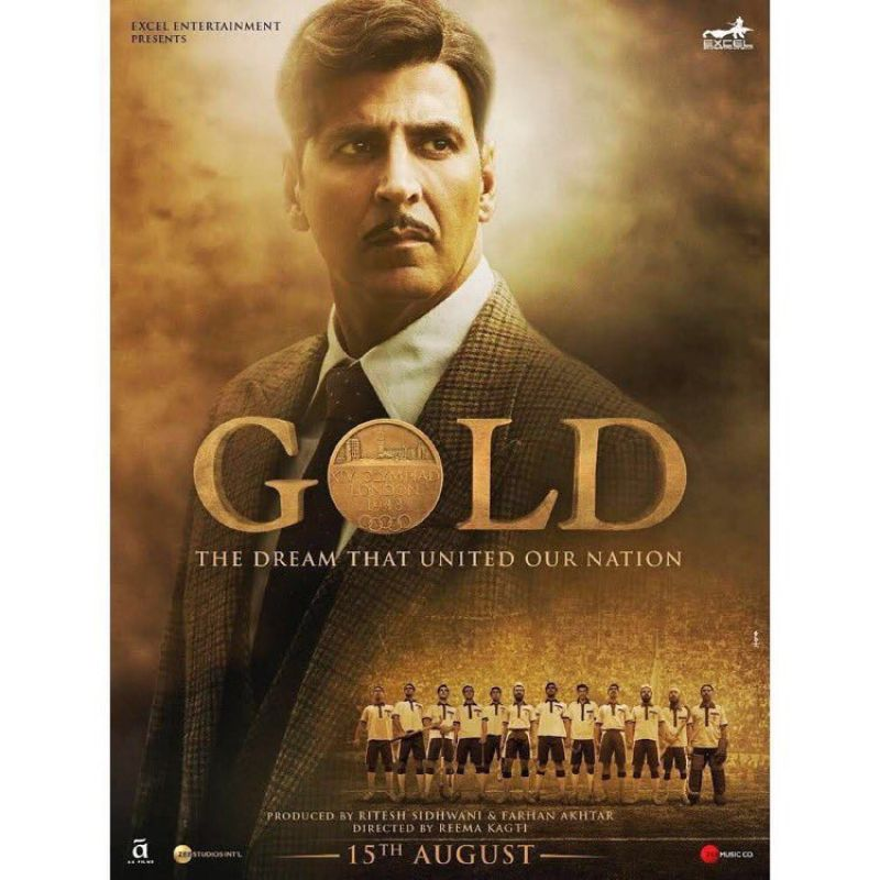 Akshay kumar in Gold