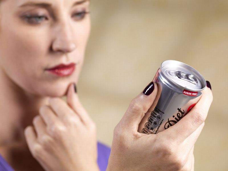 Drinking two 'diet' diets daily may increase risk of heart attack