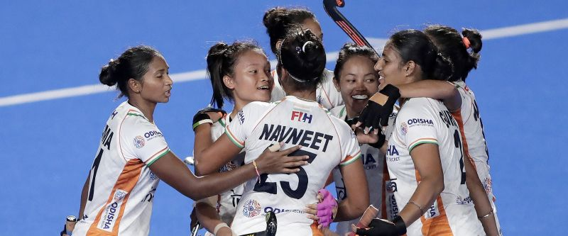 Indian women's hockey team wins the Olympic Test event