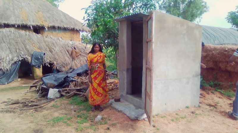 Declared as Open Defecation Free village
