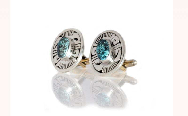 Oval Turkey Cufflinks